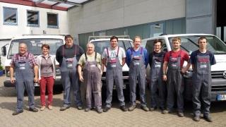 Das Team von Metallbau Hartmann aus Bamberg